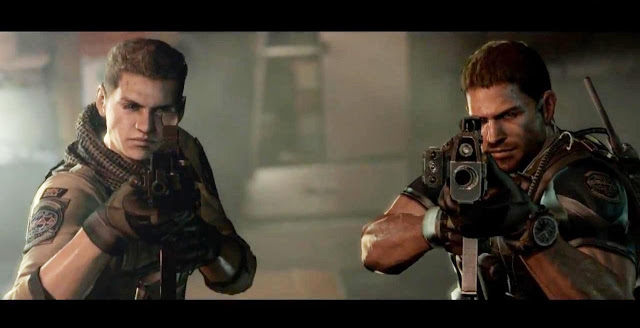 Resident Evil 6: Chris Redfield & Piers Nivans scopano allegramente – Video