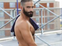 Edji-Da-Silva-Gay-Porn-Star-Beard-Shirtless-2