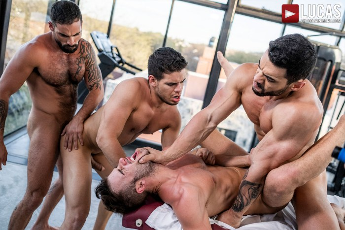 Arad Winwin, Rico Marlon, Edji Da Silva e  Allen King – Bareback
