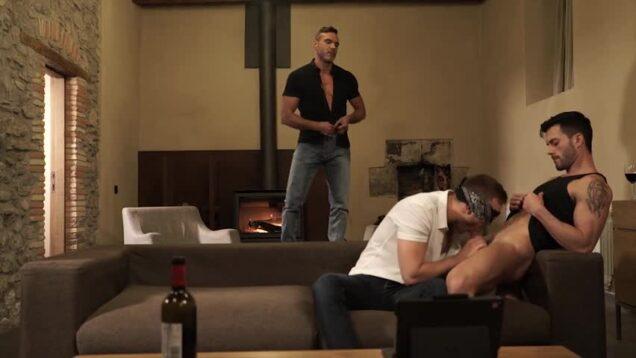 Manuel Skye pokes Jackson Radiz And Andy Star