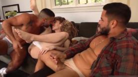 bareback threesome