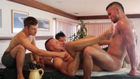 gay orgy bareback